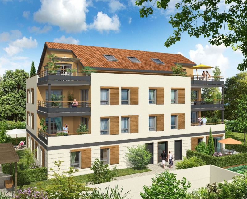 Vente appartement Genas 216927€ - Photo 1