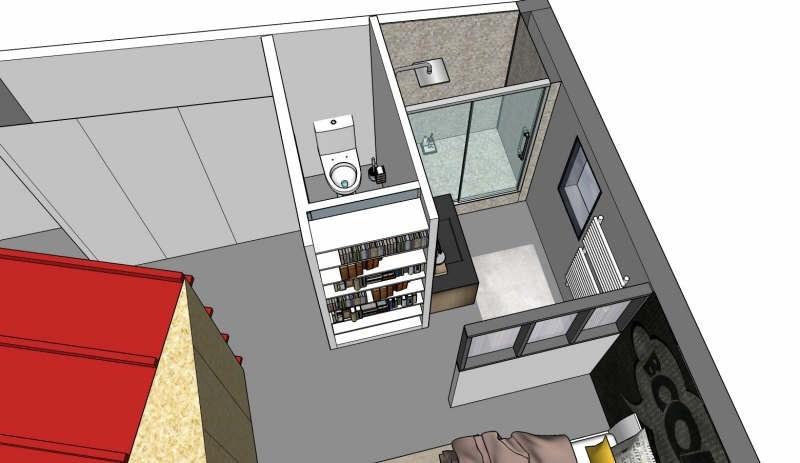 Rental loft/workshop/open plan Isle 600€ CC - Picture 3