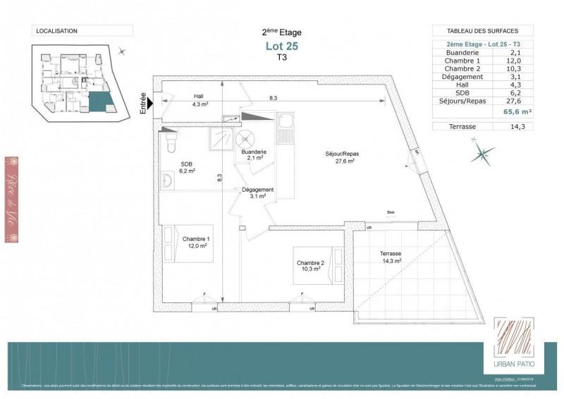 Deluxe sale apartment Le lavandou 329800€ - Picture 2