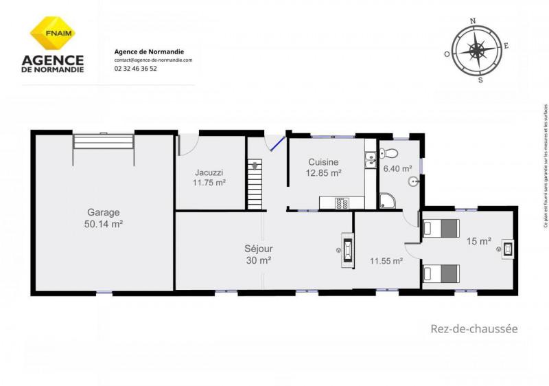 Vente maison / villa Montreuil-l'argille 180000€ - Photo 8