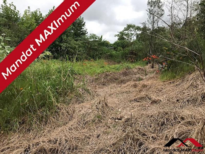 Terrain constructible la plaine des palmistes - 1126 m²
