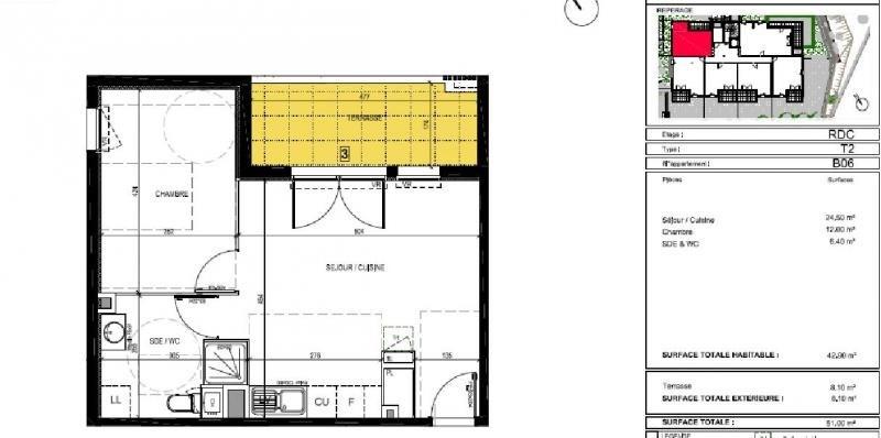 Sale apartment Montpellier 182000€ - Picture 3