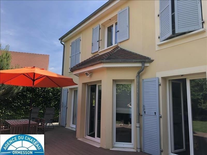 Vente de prestige maison / villa Ormesson sur marne 530000€ - Photo 1