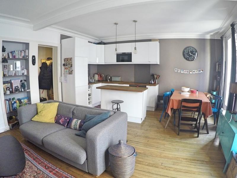 Sale apartment Paris 19ème 525000€ - Picture 2