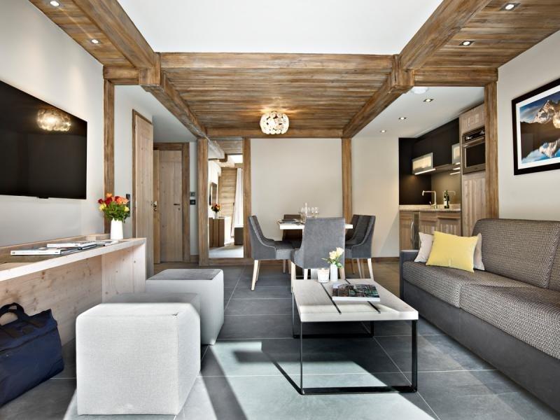Verkauf von luxusobjekt wohnung Les houches 325000€ - Fotografie 1