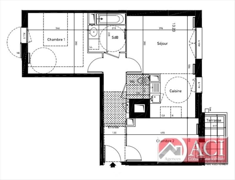 Sale apartment Deuil la barre 198000€ - Picture 4