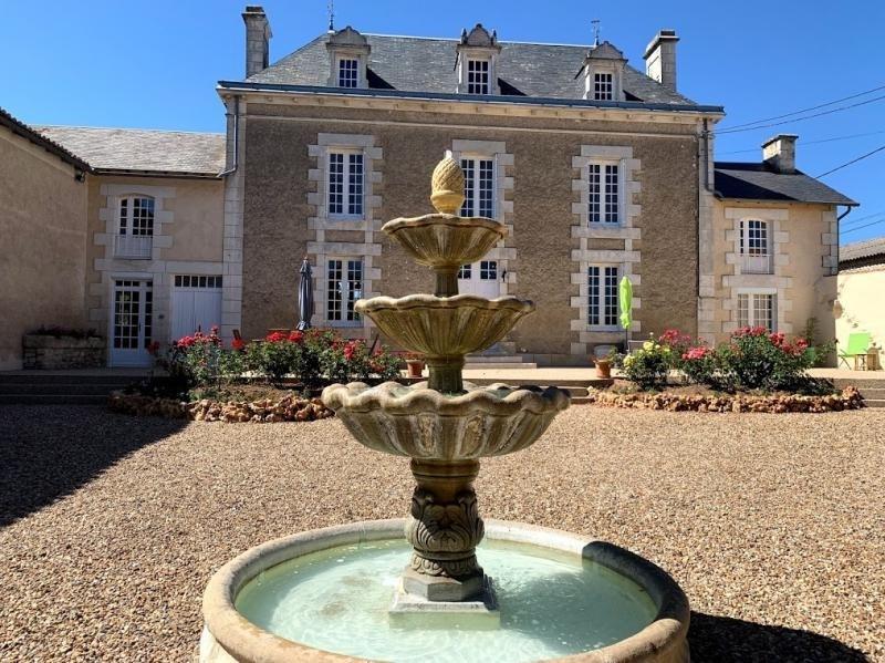 Vente maison / villa Vendeuvre du poitou 436800€ - Photo 1