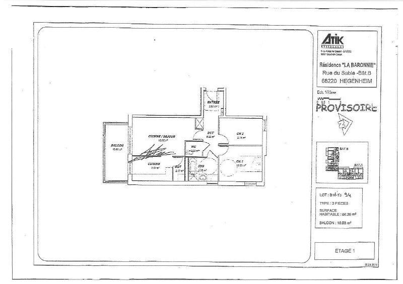 Location appartement Hegenheim 883€ CC - Photo 11