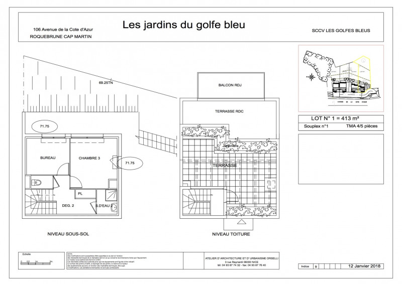 Sale house / villa Roquebrune-cap-martin 680000€ - Picture 5