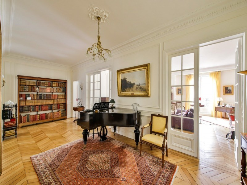 Deluxe sale apartment Paris 17ème 2 750 000€ - Picture 1