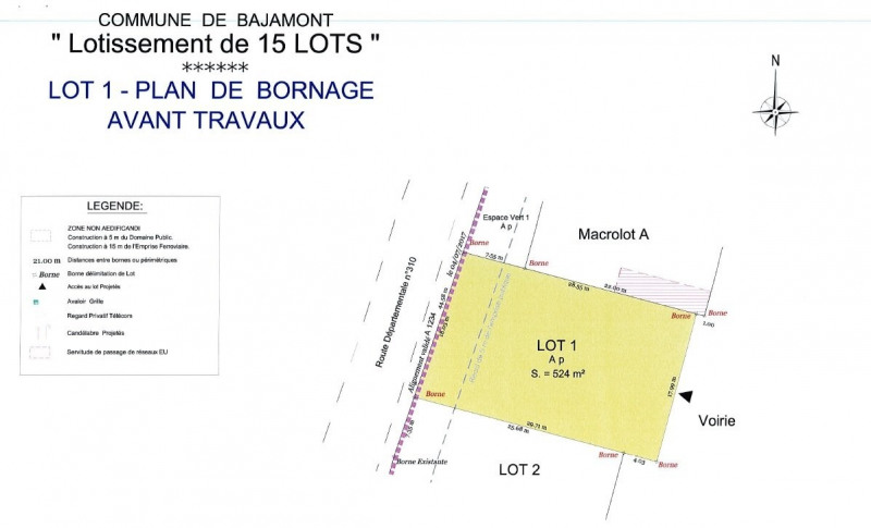 Sale site Agen 41 000€ - Picture 1
