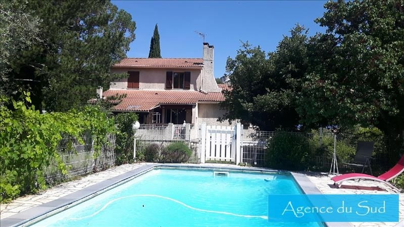 Vente maison / villa La bouilladisse 527000€ - Photo 1