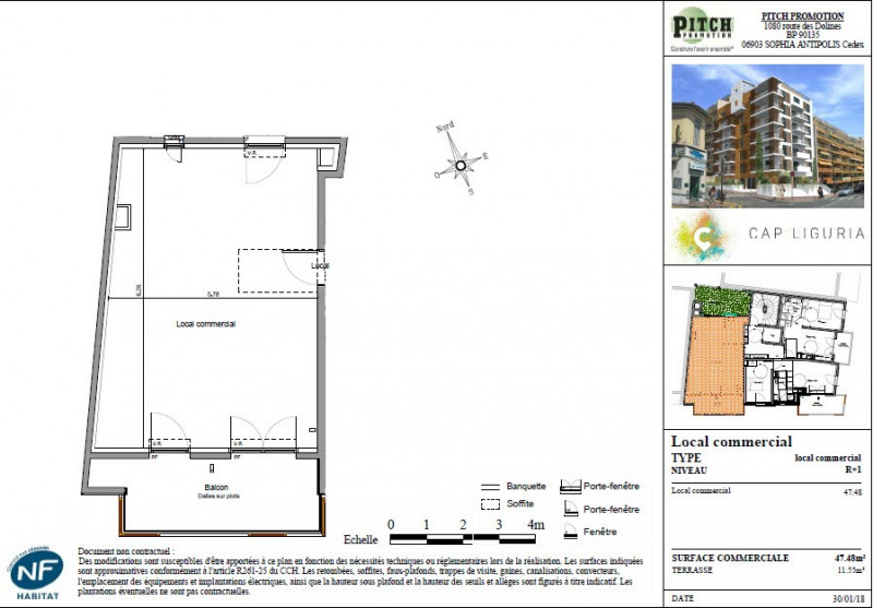 Vente immeuble Roquebrune-cap-martin 223000€ - Photo 1