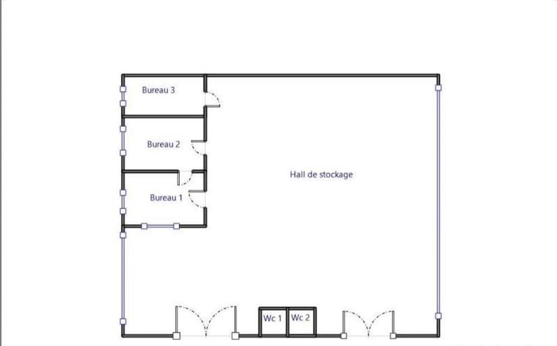Rental empty room/storage Fegersheim 3350€ HT/HC - Picture 8