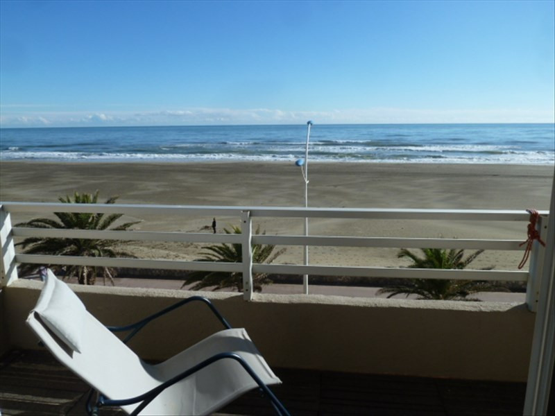 Vente appartement Canet plage 200 000€ - Photo 1