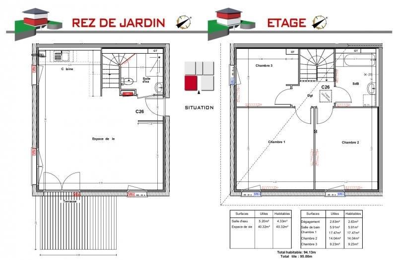 Vente maison / villa Jons 264000€ - Photo 5