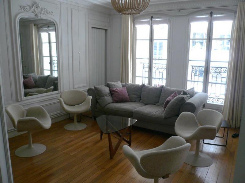 Alquiler  apartamento Paris 17ème 4350€ CC - Fotografía 2