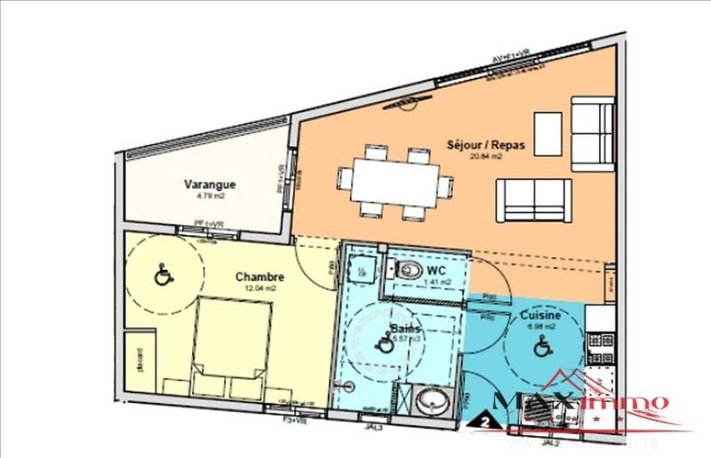 Vente appartement St denis 180300€ - Photo 1