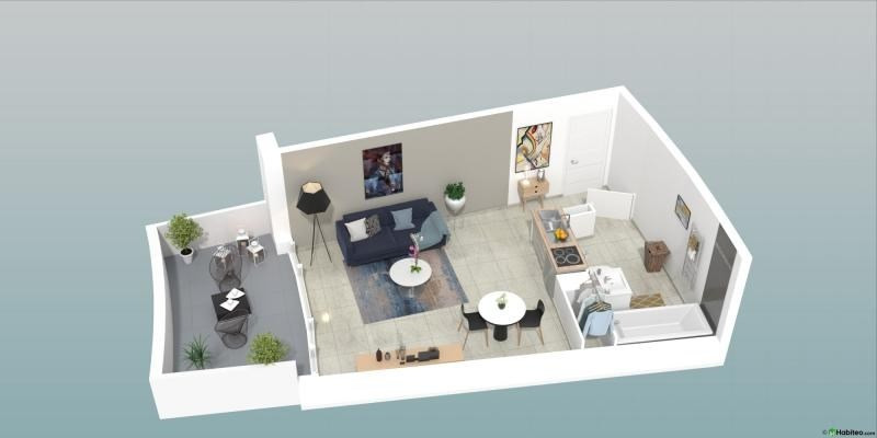 Vente appartement Le cap d agde 277 000€ - Photo 9