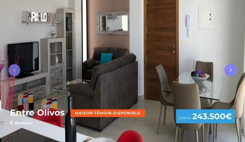 Vente maison / villa Benijofar 257100€ - Photo 1