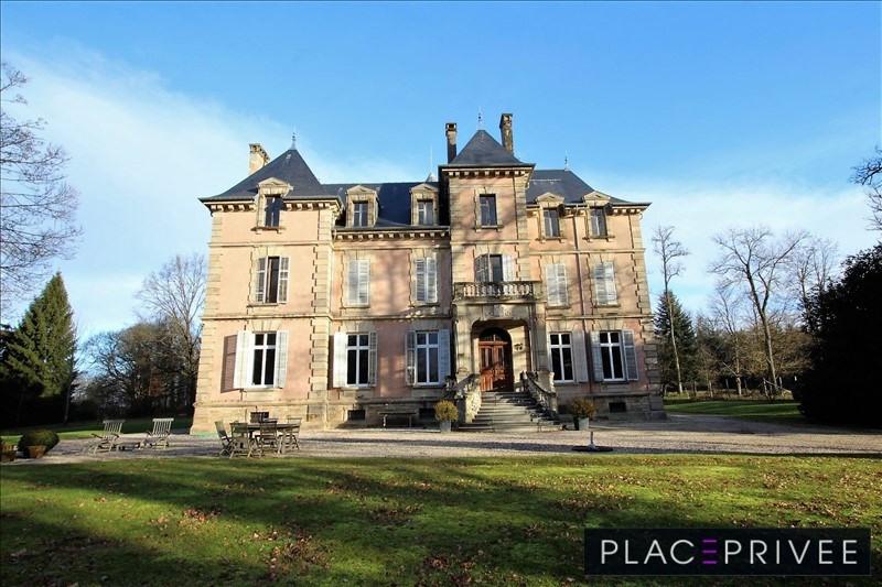 Deluxe sale private mansion Vosges 495000€ - Picture 1
