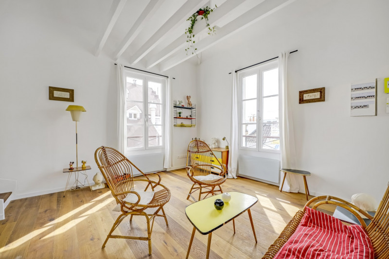 Vente de prestige appartement Paris 18ème 795 000€ - Photo 2