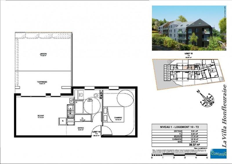 Vente appartement Honfleur 162750€ - Photo 9