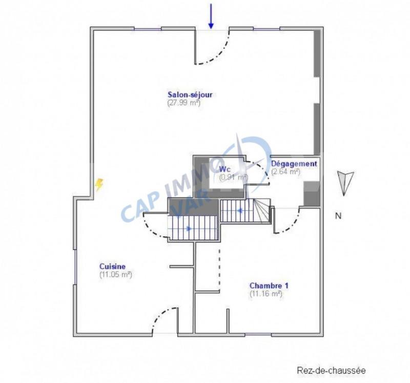 Sale house / villa Le castellet 420000€ - Picture 11