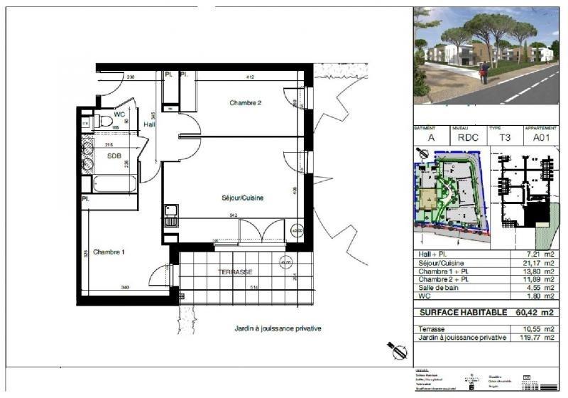 Vente appartement Montpellier 248500€ - Photo 2