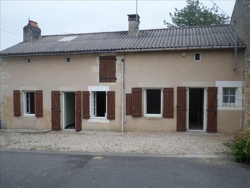 Vente maison / villa Civaux 77000€ - Photo 1