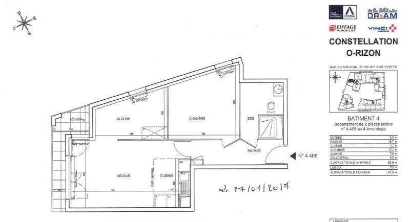 Rental apartment Gif sur yvette 820€ CC - Picture 6