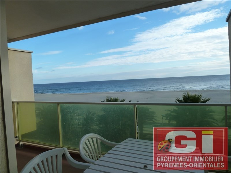 Sale apartment Canet plage 125 000€ - Picture 1