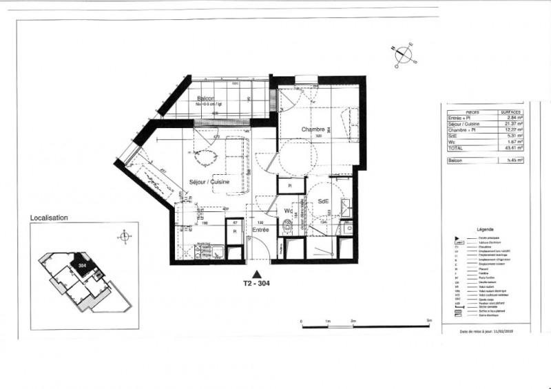 Vente appartement Tours 163000€ - Photo 6