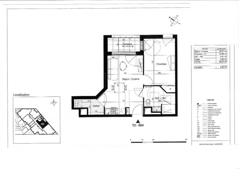 Vente appartement Tours 125000€ - Photo 5