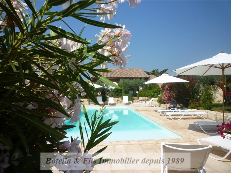 Deluxe sale house / villa Goudargues 1265000€ - Picture 3