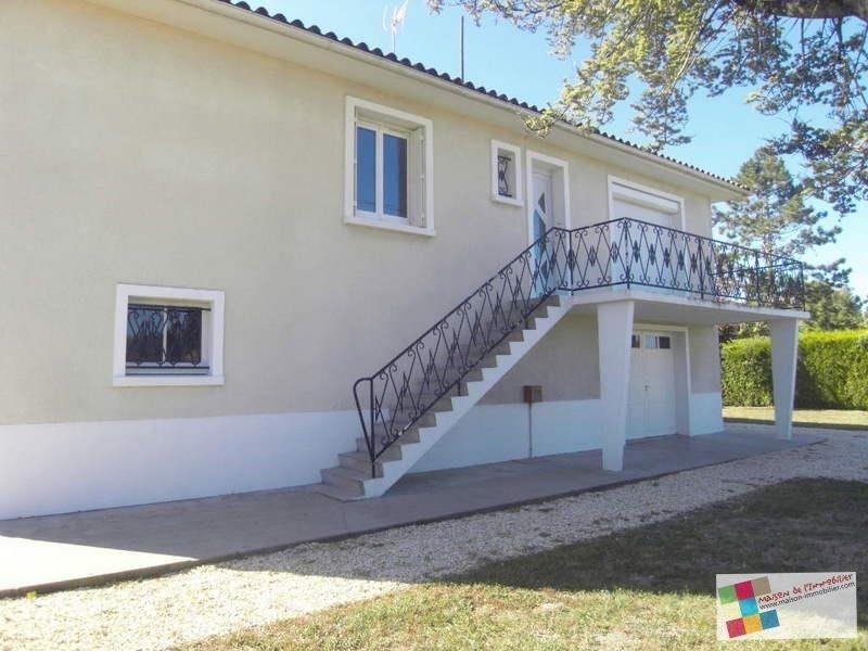 Location maison / villa Gensac la pallue 714€ CC - Photo 1