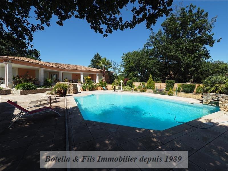 Verkoop van prestige  huis Uzes 495000€ - Foto 12