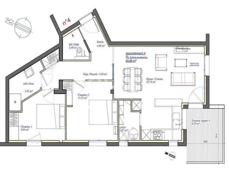 Sale apartment Perpignan 224000€ - Picture 2