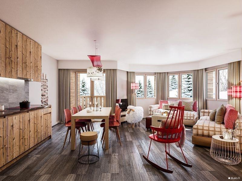Vente de prestige appartement Avoriaz 553000€ - Photo 4