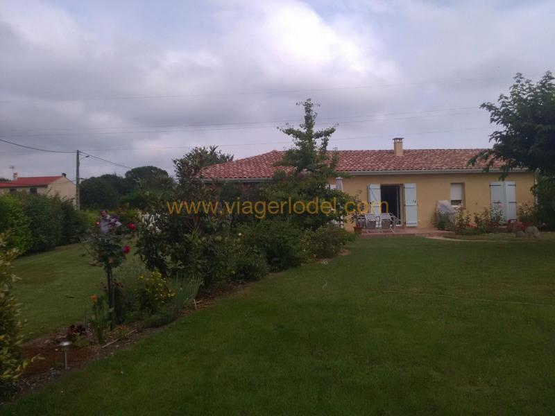 Vendita nell' vitalizio di vita casa Huos 53500€ - Fotografia 5