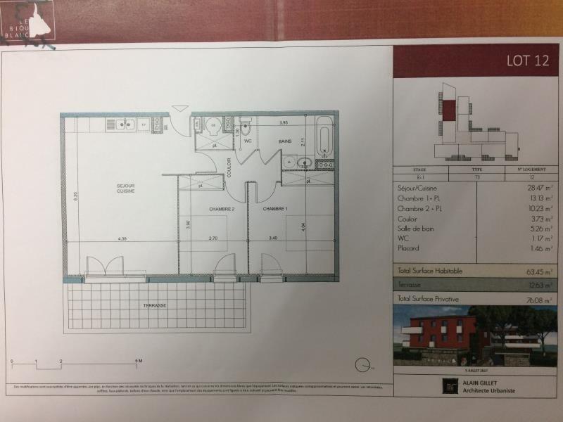 Sale apartment Lunel 169500€ - Picture 1