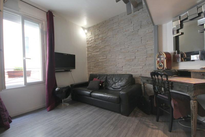 Rental apartment Paris 17ème 695€ CC - Picture 1