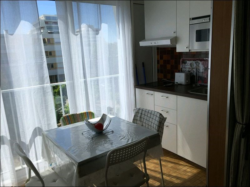 Rental apartment La grande motte 550€ CC - Picture 1