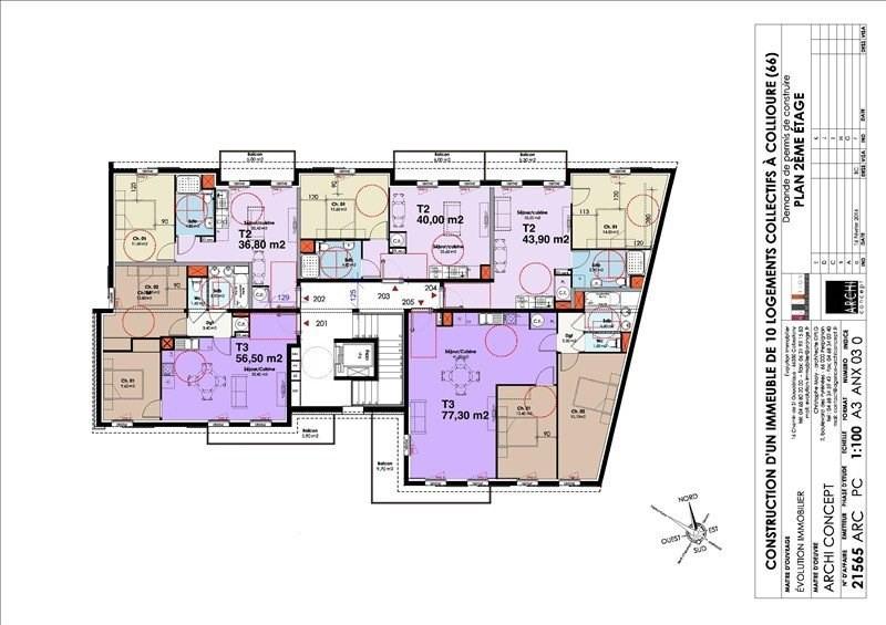Sale apartment Collioure 231360€ - Picture 13
