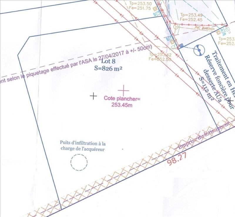 Vente terrain Ville sous anjou 99000€ - Photo 1