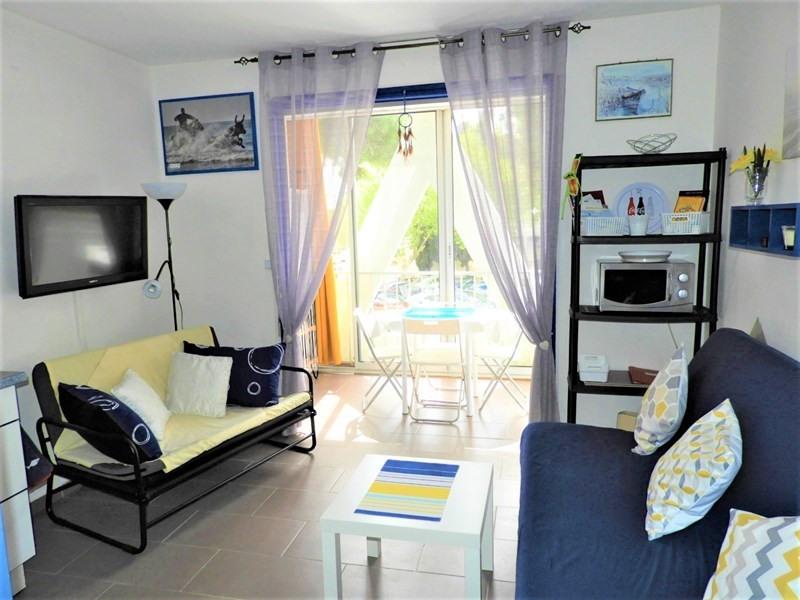 Location vacances appartement La grande motte 195€ - Photo 1