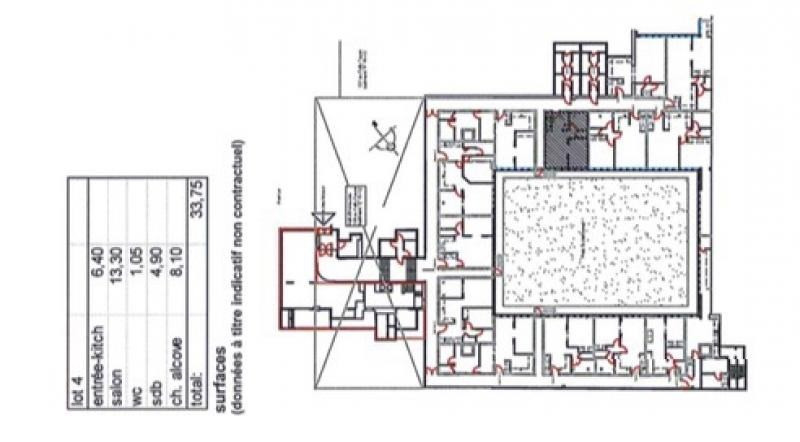 出售 公寓 Paris 15ème 365000€ - 照片 1
