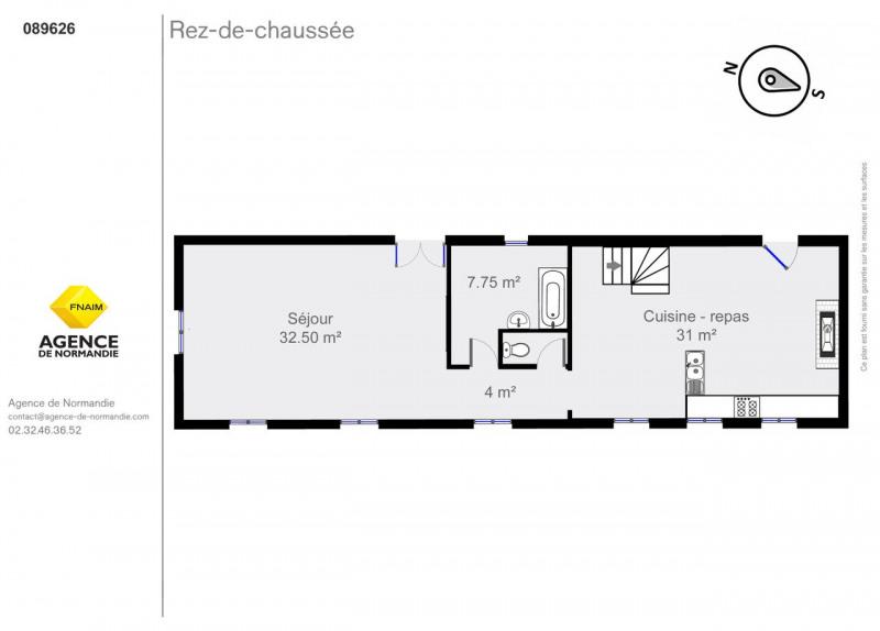 Vente maison / villa Montreuil-l'argillé 89500€ - Photo 5