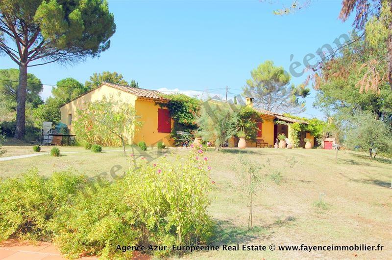 Deluxe sale house / villa Le canton de fayence 875000€ - Picture 1