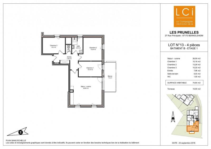 Vente appartement Bernolsheim 247000€ - Photo 1